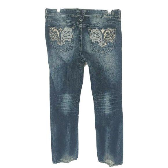 Hydraulic Denim Gramercy Jeans Size 12 Blue
